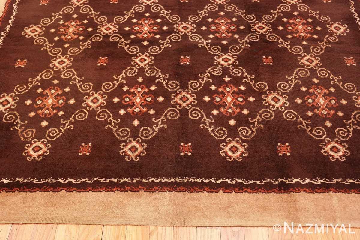 Border French Art Deco Carpet by Kinheim 50277 by Nazmiyal