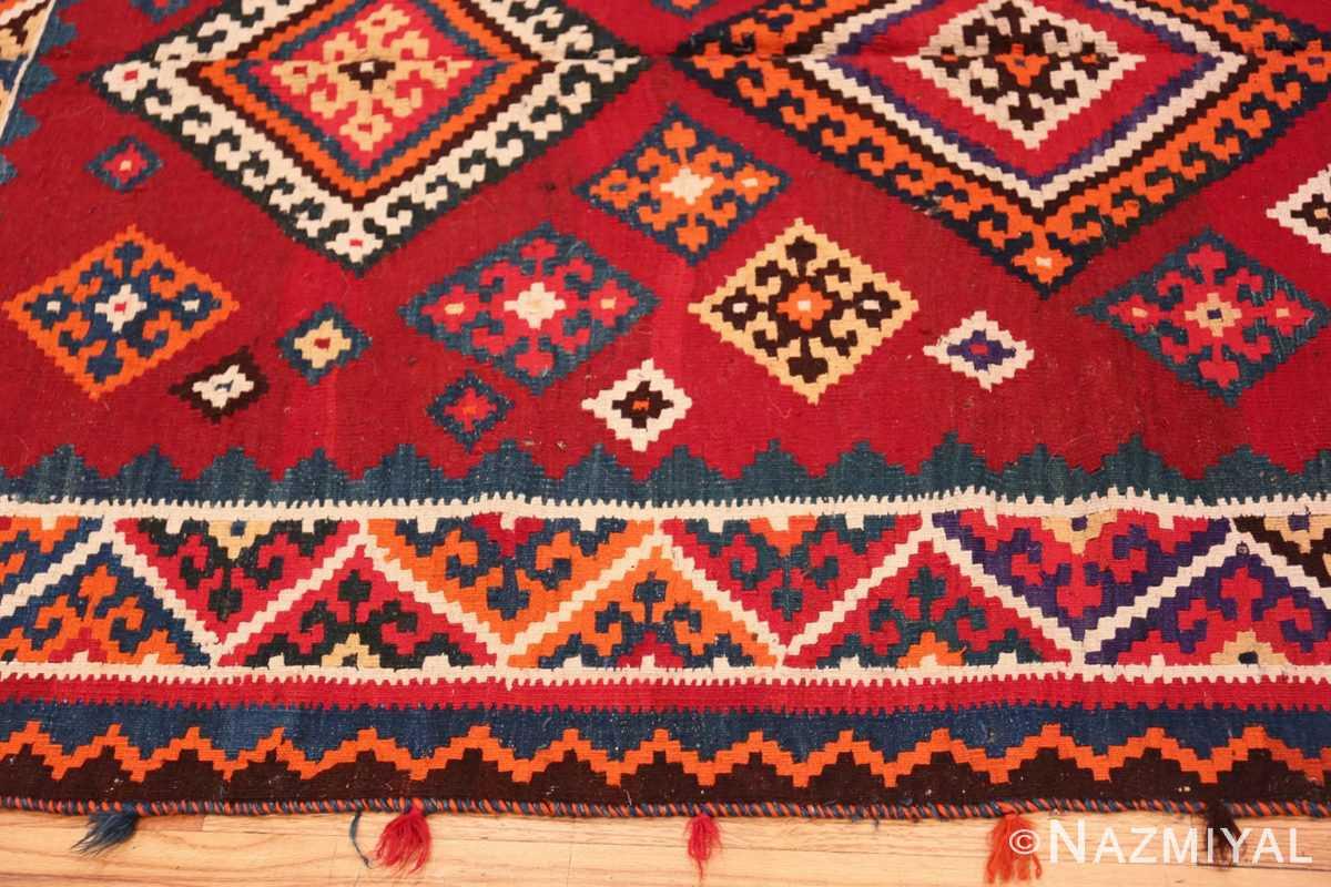 Border Tribal Antique Persian Ghasgai rug 50269 by Nazmiyal