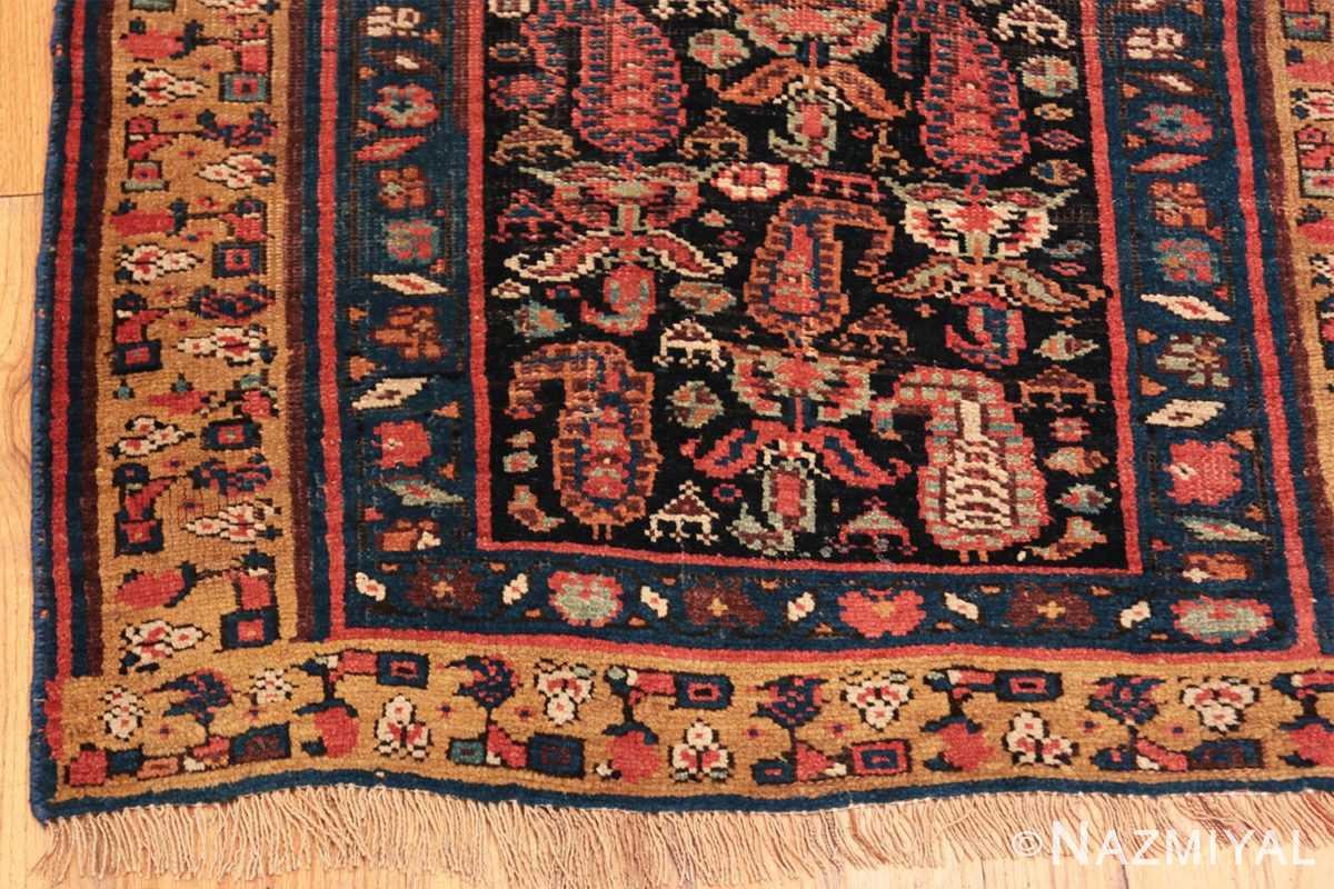 Corner Antique Bidjar Persian runner rug 50280 by Nazmiyal