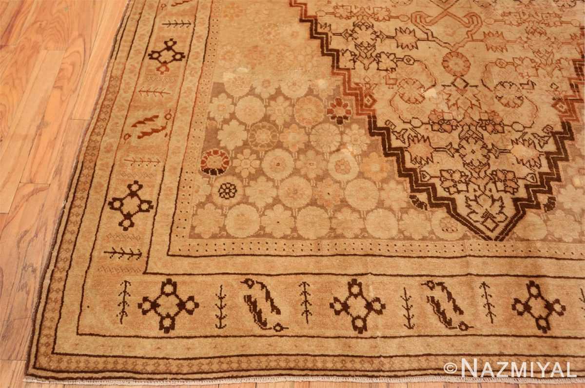 Corner Antique Khotan rug 50325 by Nazmiyal