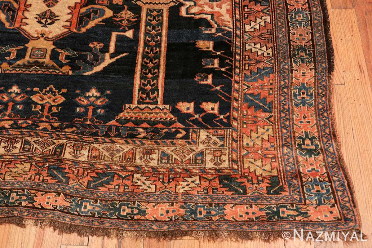 Corner Antique Persian Kourdish carpet 50266 by Nazmiyal