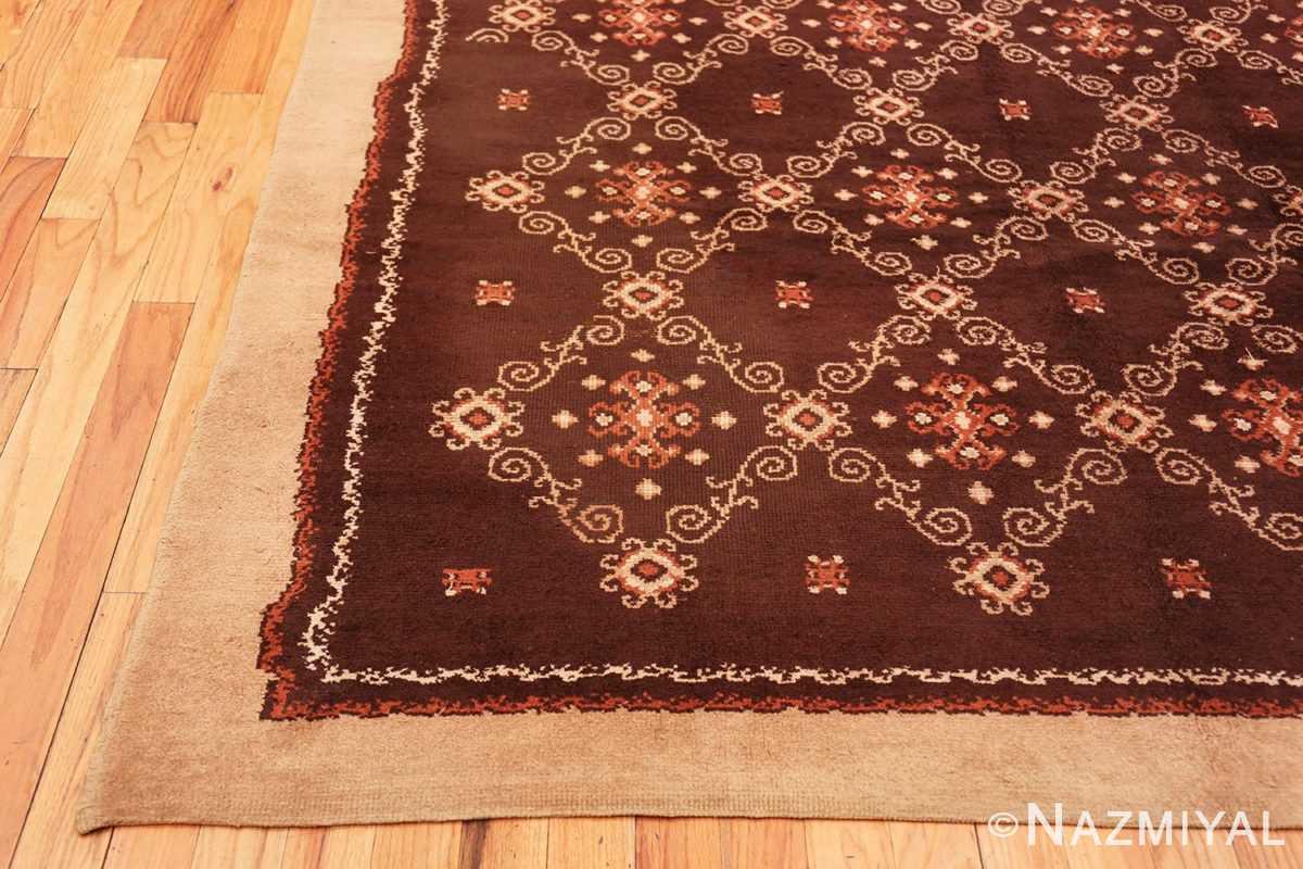 Corner French Art Deco Carpet by Kinheim 50277 by Nazmiyal