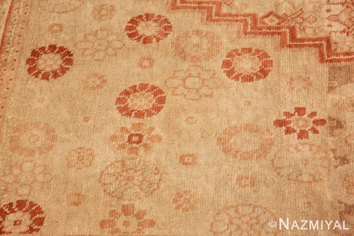 Detail Antique Khotan rug 50325 by Nazmiyal