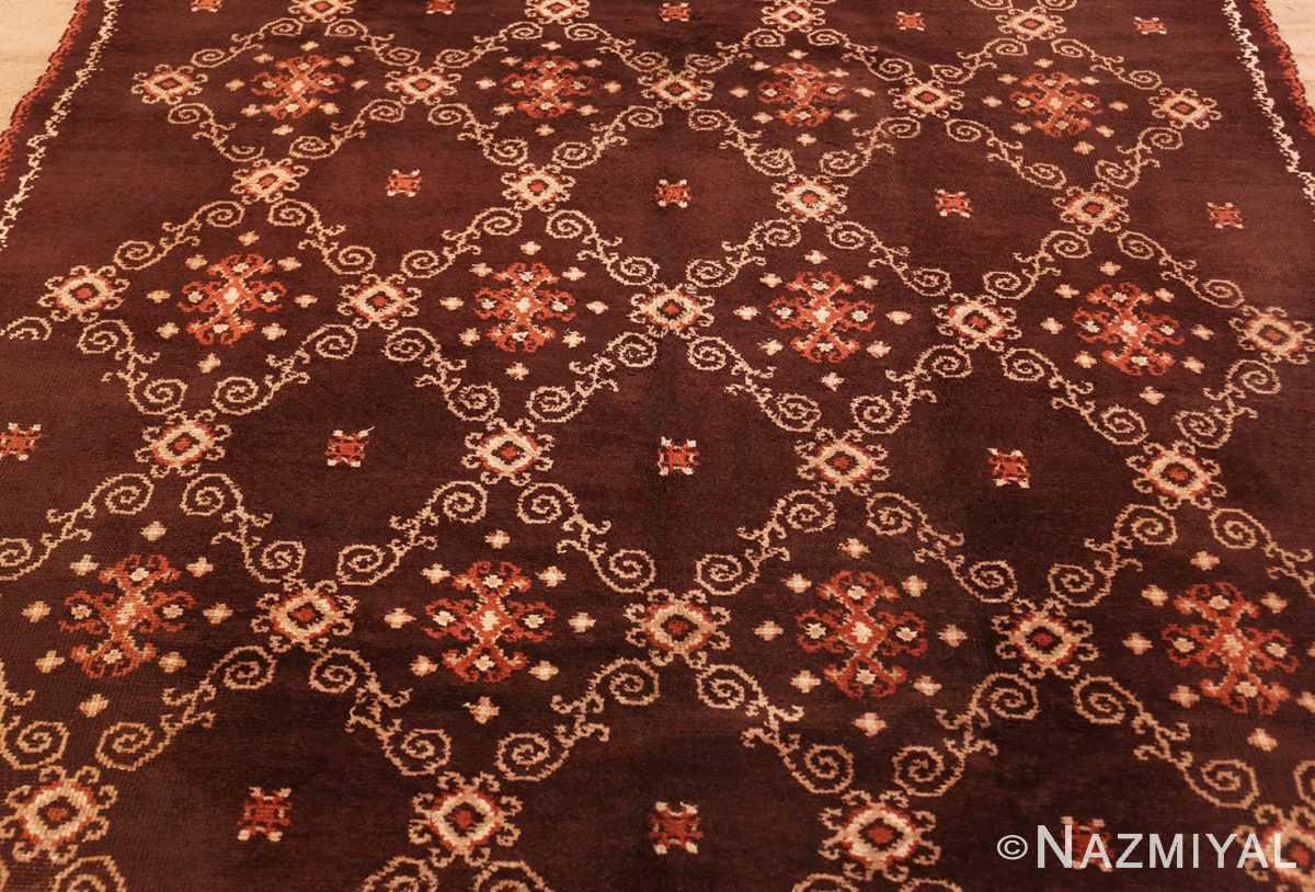 Detail French Art Deco Carpet by Kinheim 50277 by Nazmiyal