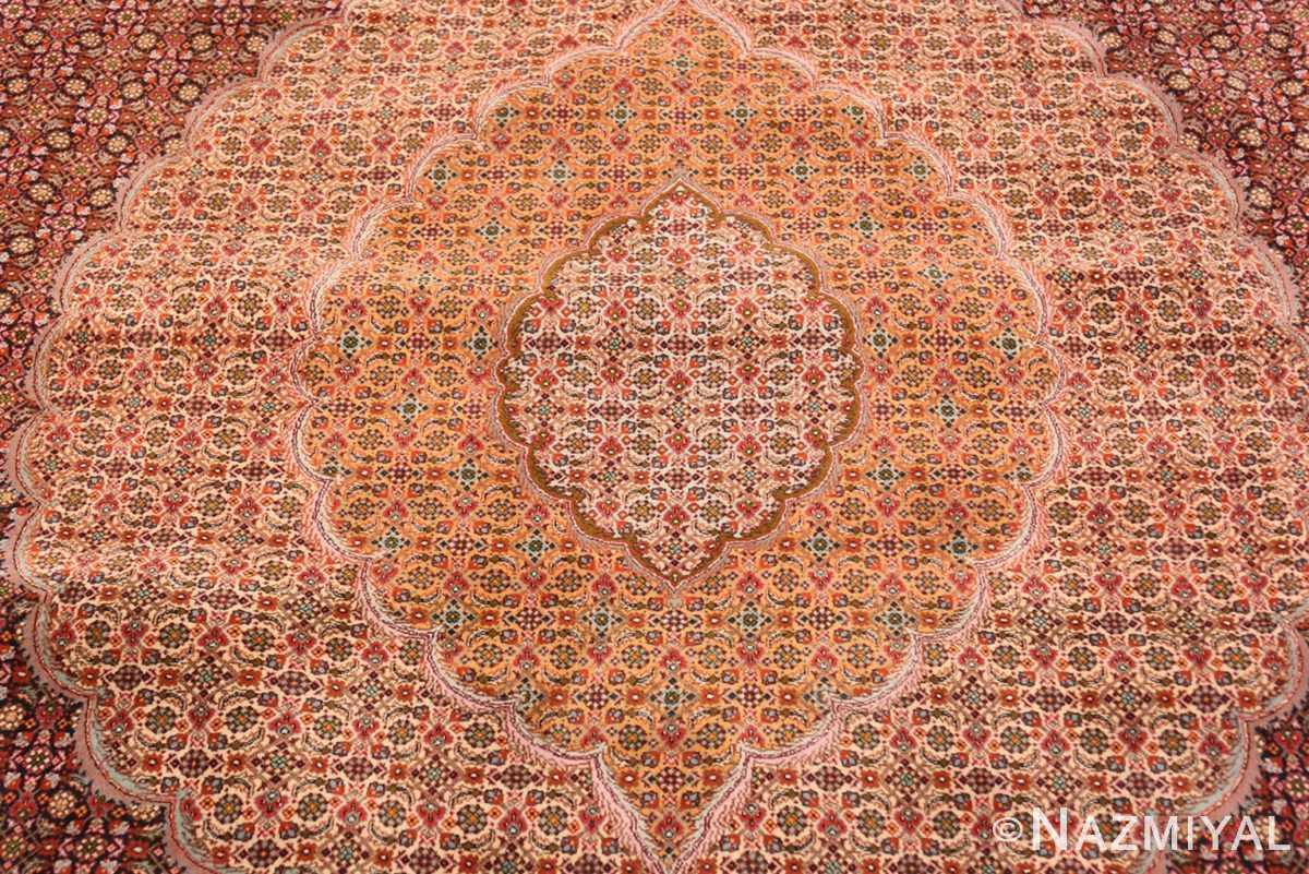 Detail Large Vintage Persian Tabriz rug 50316 by Nazmiyal