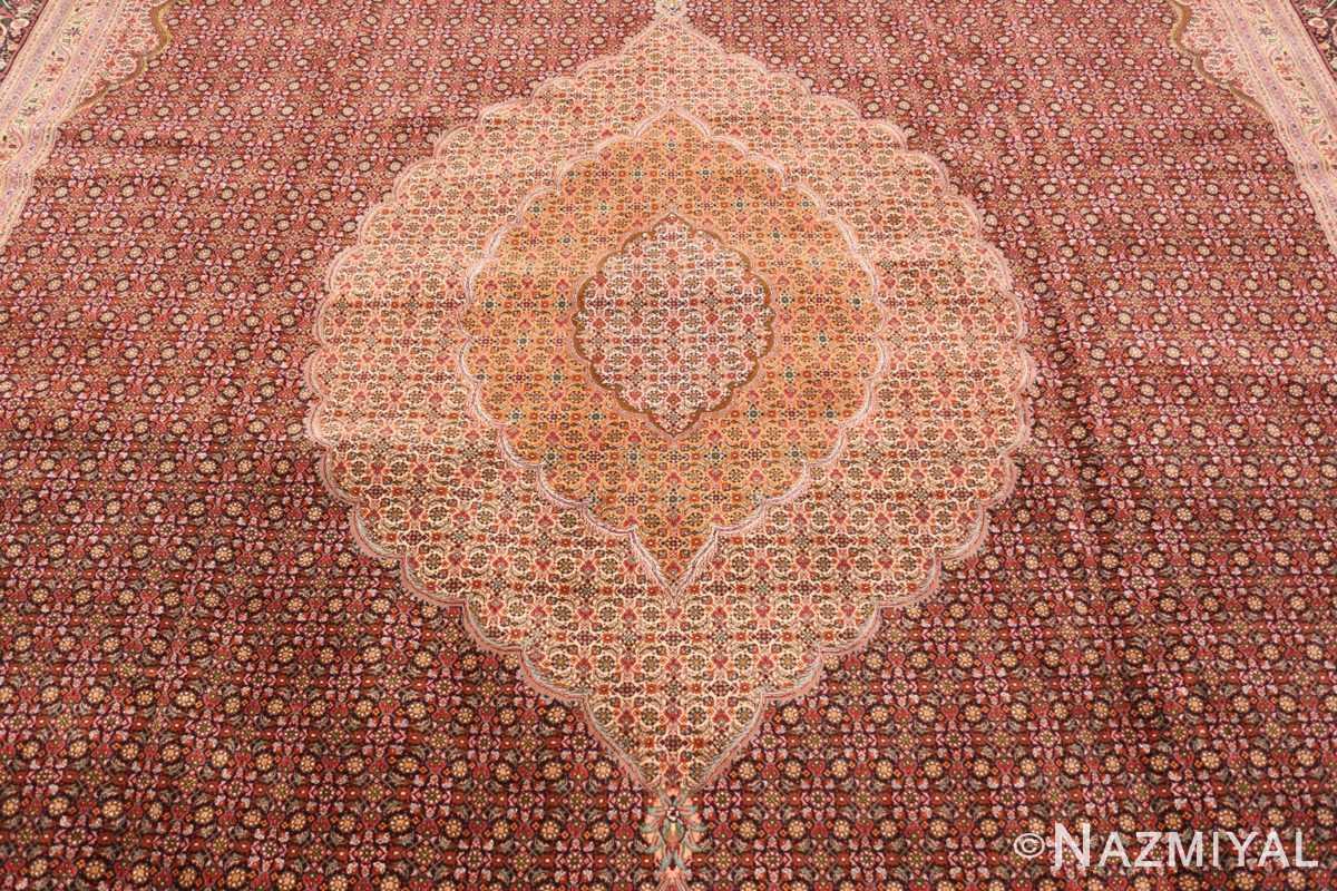 Field Large Vintage Persian Tabriz rug 50316 by Nazmiyal