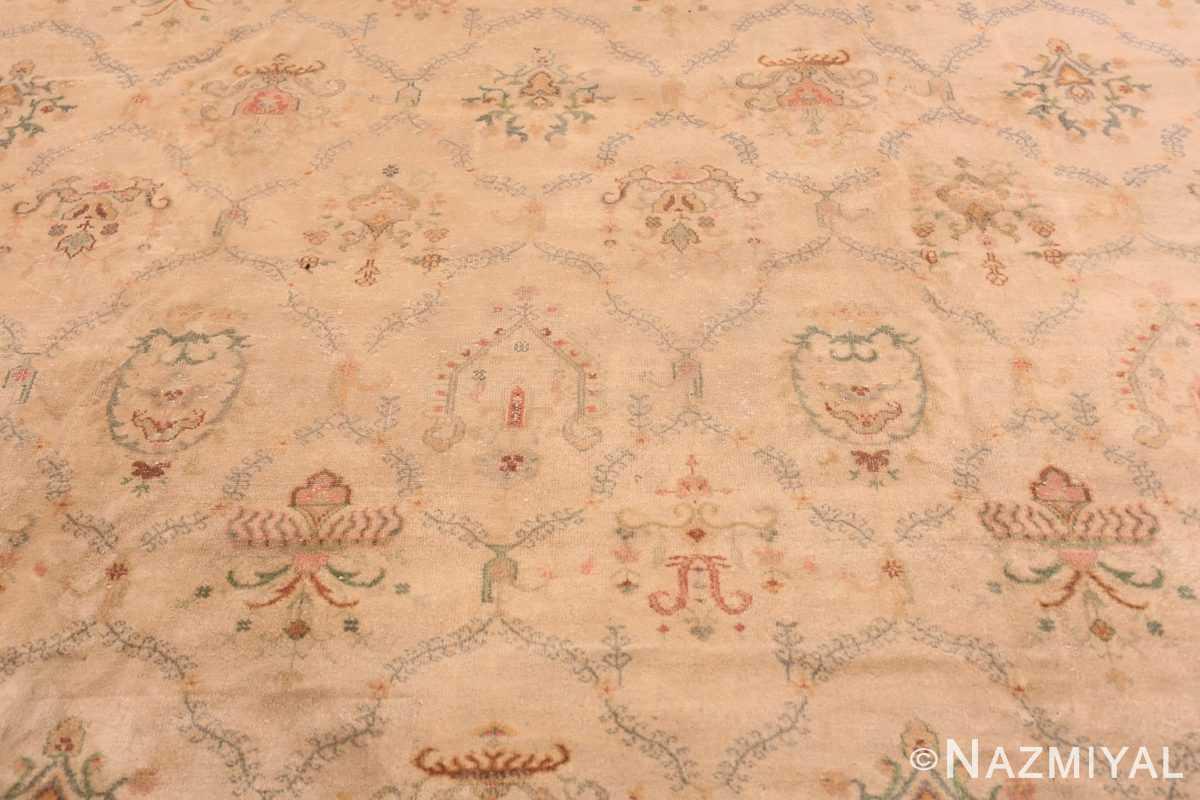 Field Vintage Turkish Sivas carpet 50327 by Nazmiyal Antique Rugs in NYC