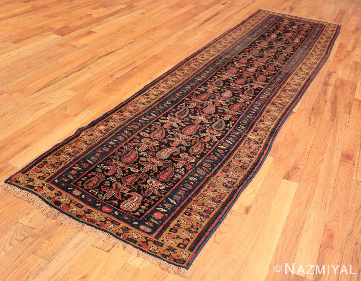 Full Antique Bidjar Persian runner rug 50280 by Nazmiyal
