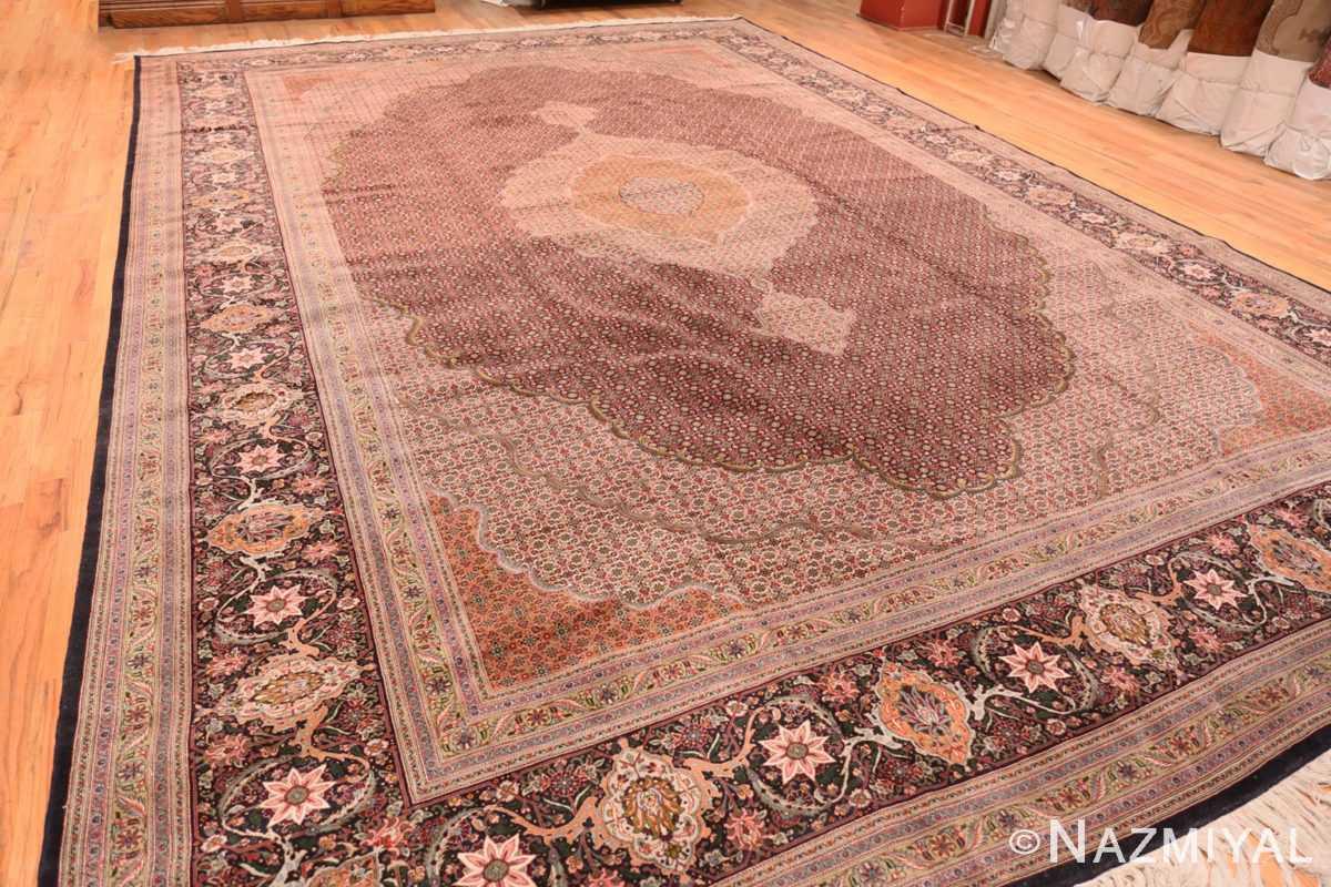 Full Large Vintage Persian Tabriz rug 50316 by Nazmiyal