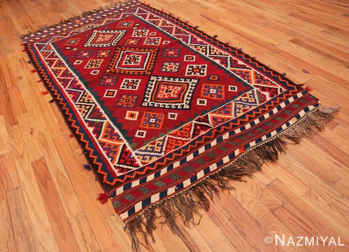 Full Tribal Antique Persian Ghasgai rug 50269 by Nazmiyal