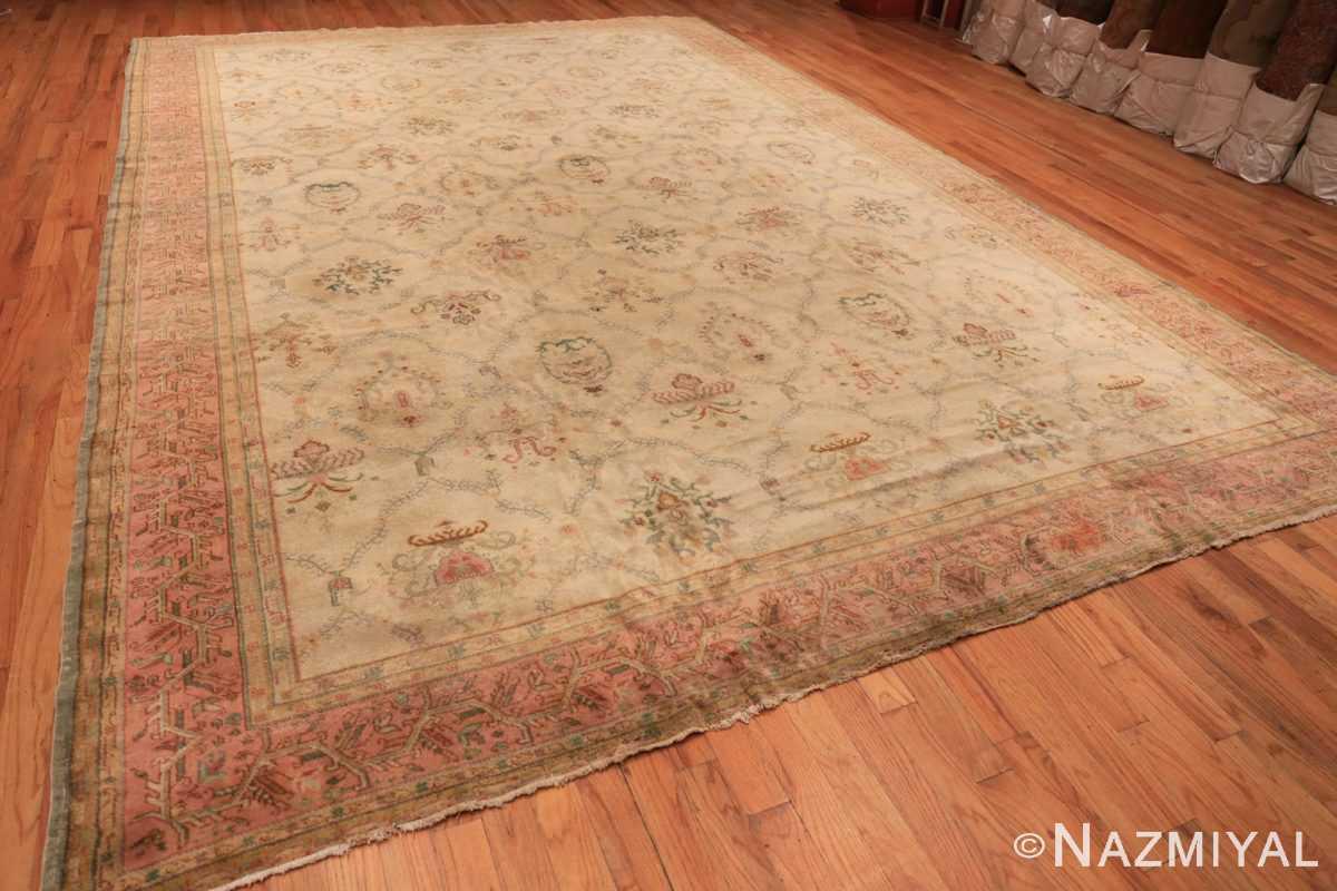 Full Vintage Turkish Sivas carpet 50327 by Nazmiyal Antique Rugs in NYC