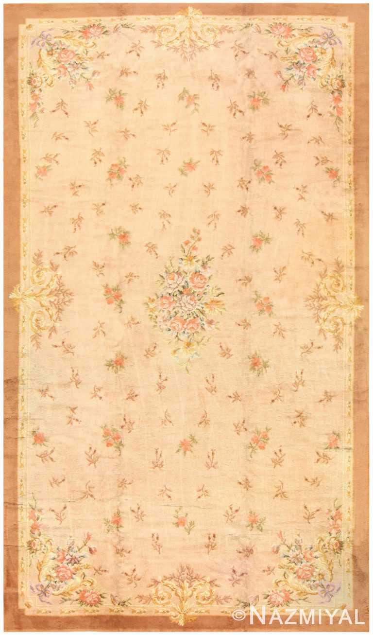 Large Antique Spanish Carpet 50314 Nazmiyal