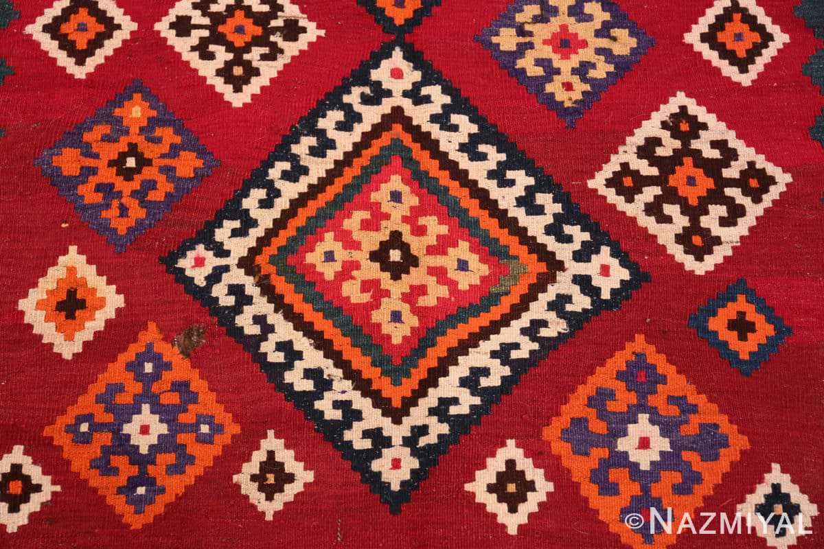 Middle Tribal Antique Persian Ghasgai rug 50269 by Nazmiyal