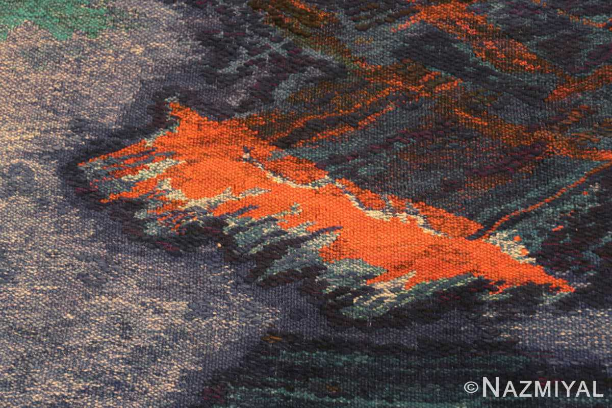 vintage Scandinavian Was at sea designed by Brita Molin carpet 48514 from Nazmiyal antique rugs collection