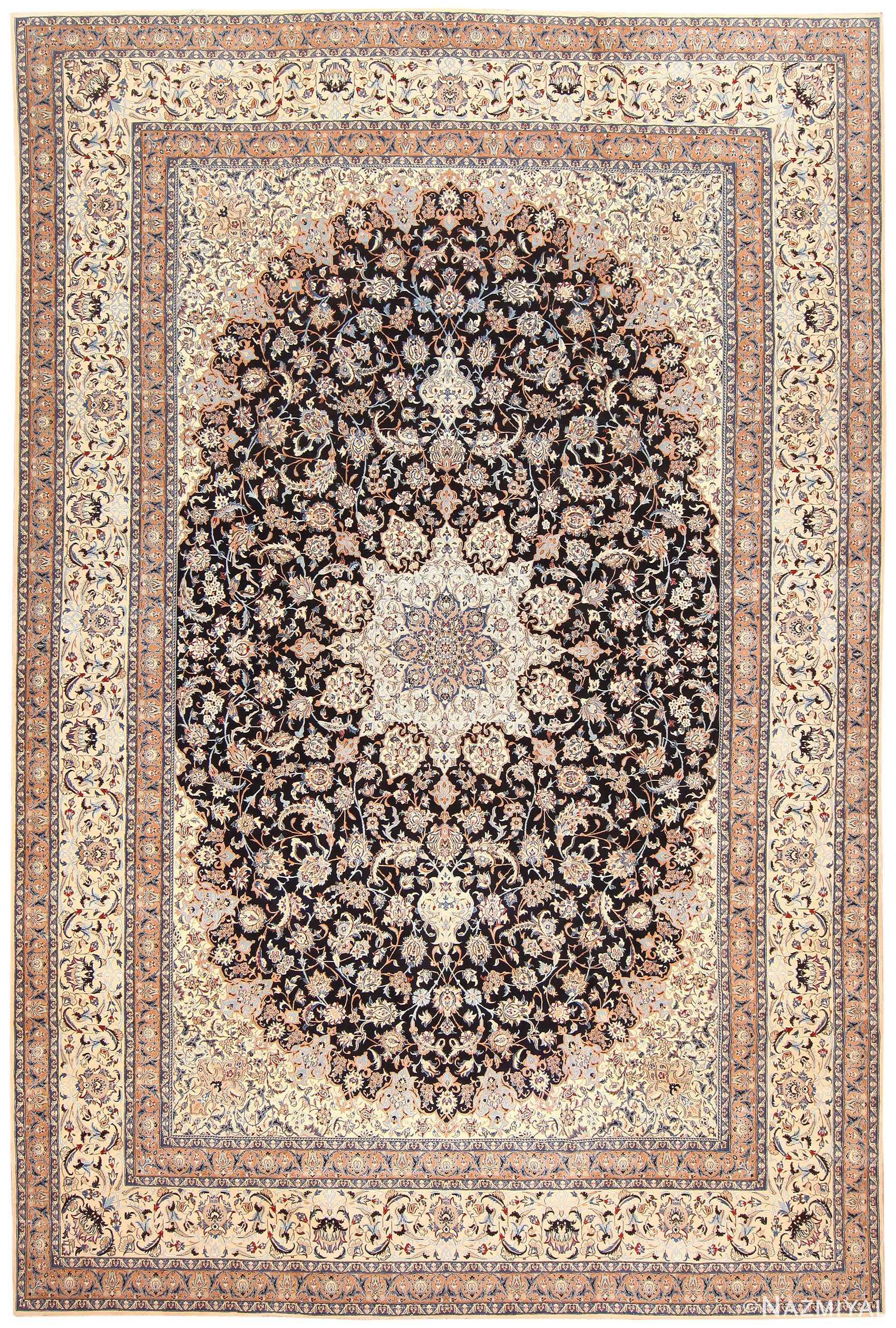 Persian Nain Carpet 50318 Detail/Large View