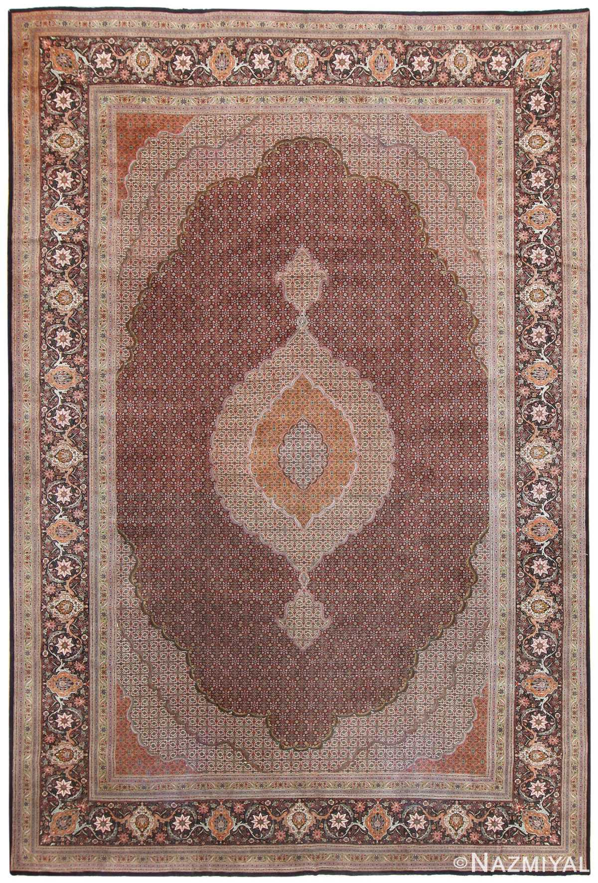 Persian Tabriz Carpet 50316 Detail/Large View
