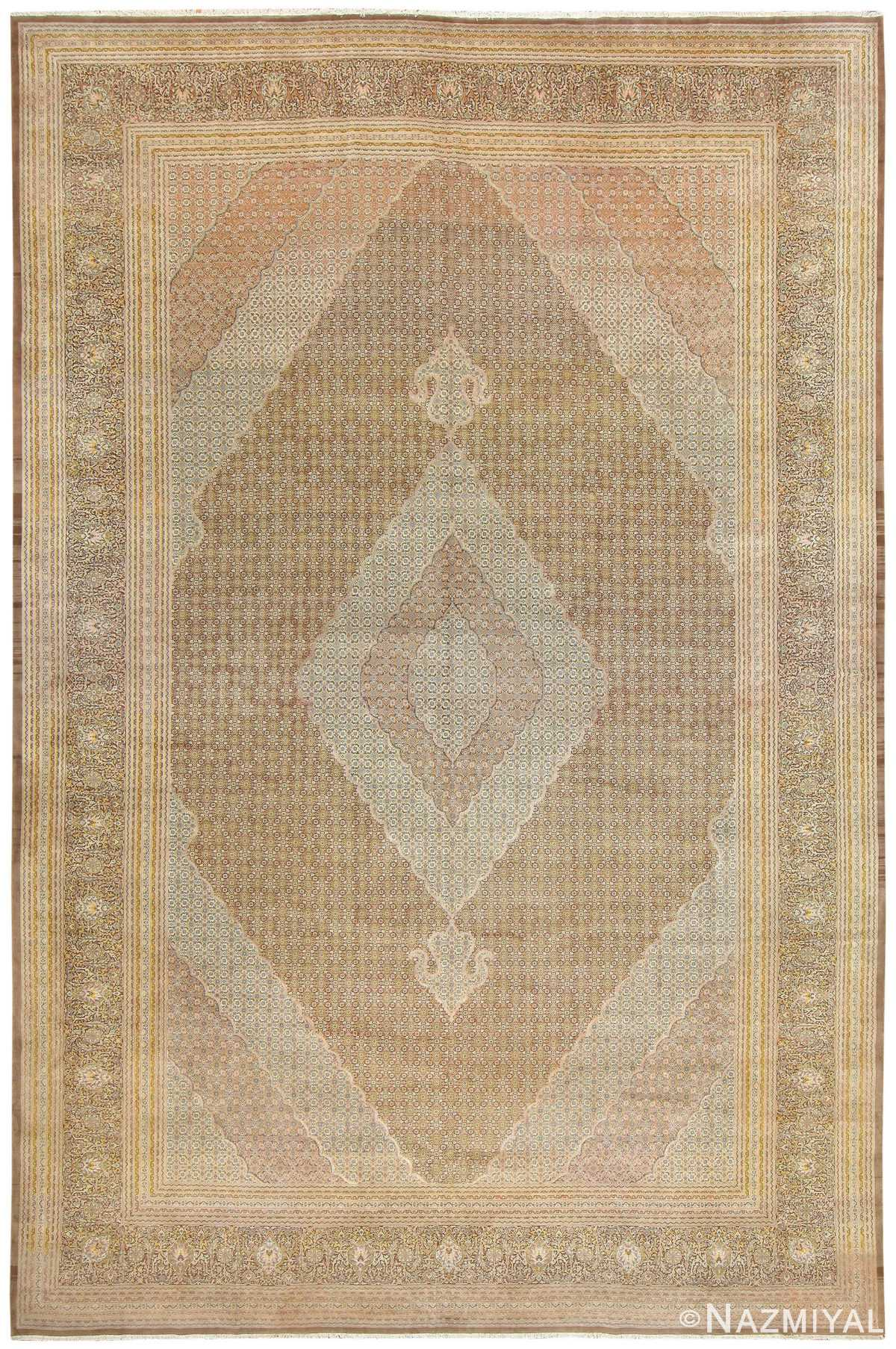 Persian Tabriz Carpet 50317 Detail/Large View