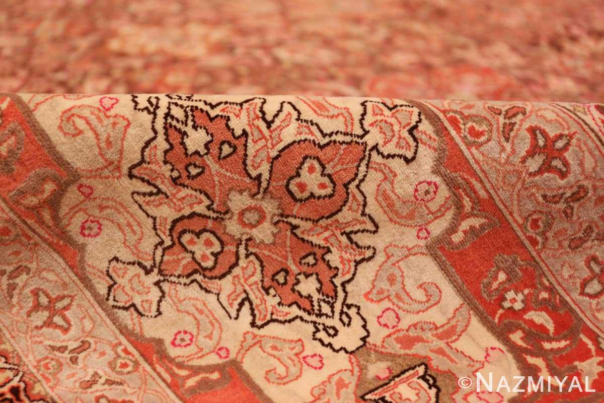 Pile Silk and wool room sized Tabriz Persian carpet 50251 by Nazmiyal