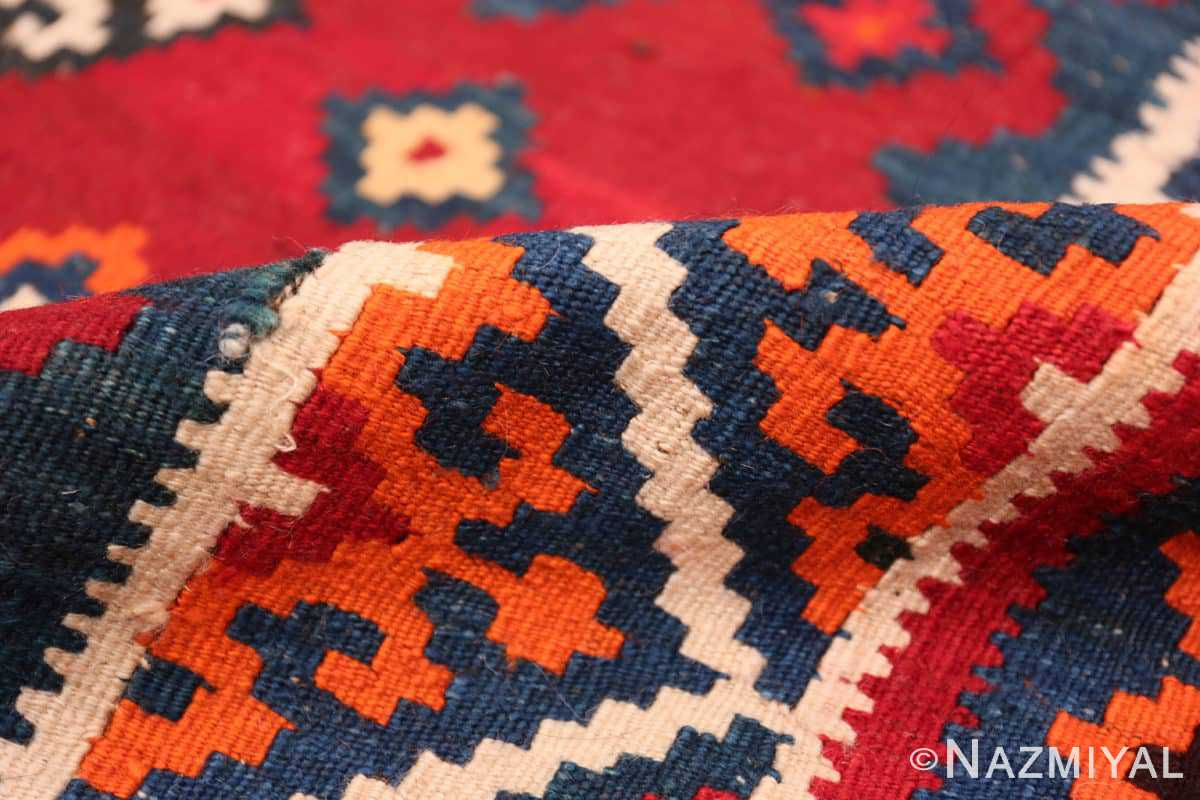 Pile Tribal Antique Persian Ghasgai rug 50269 by Nazmiyal