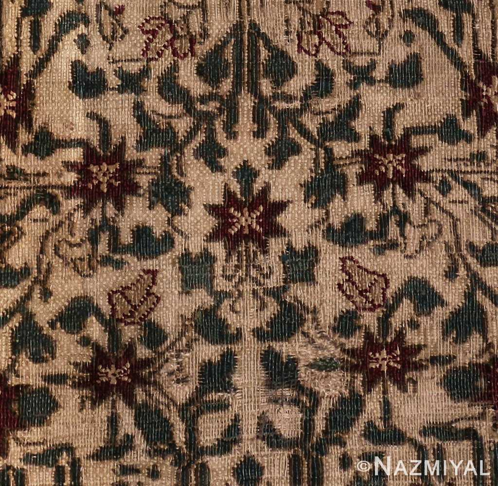 Picture of design of Room Sized Antique Indian Agra Rug 50180