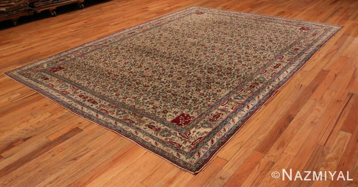 Picture of the whole of Room Sized Antique Indian Agra Rug 50180