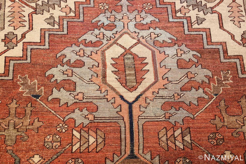 room sized antique persian serapi carpet 50016 tiara Nazmiyal