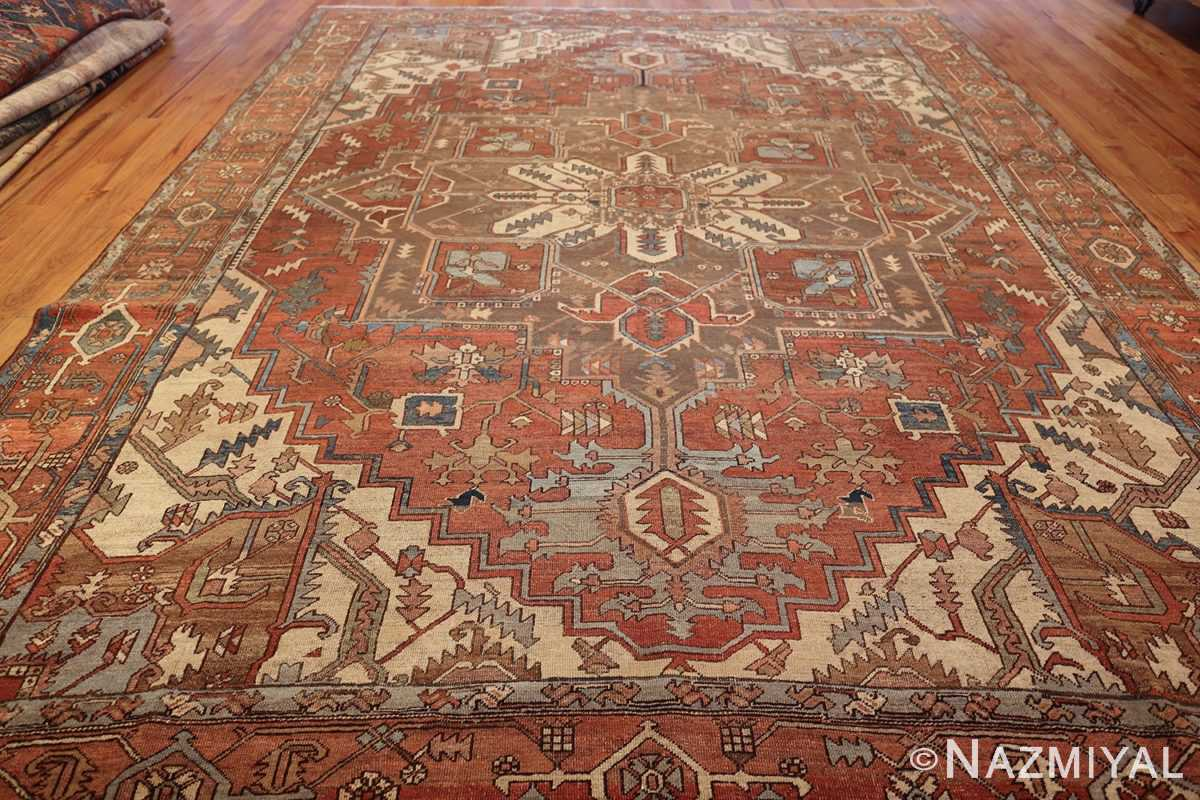 room sized antique persian serapi carpet 50016 whole Nazmiyal