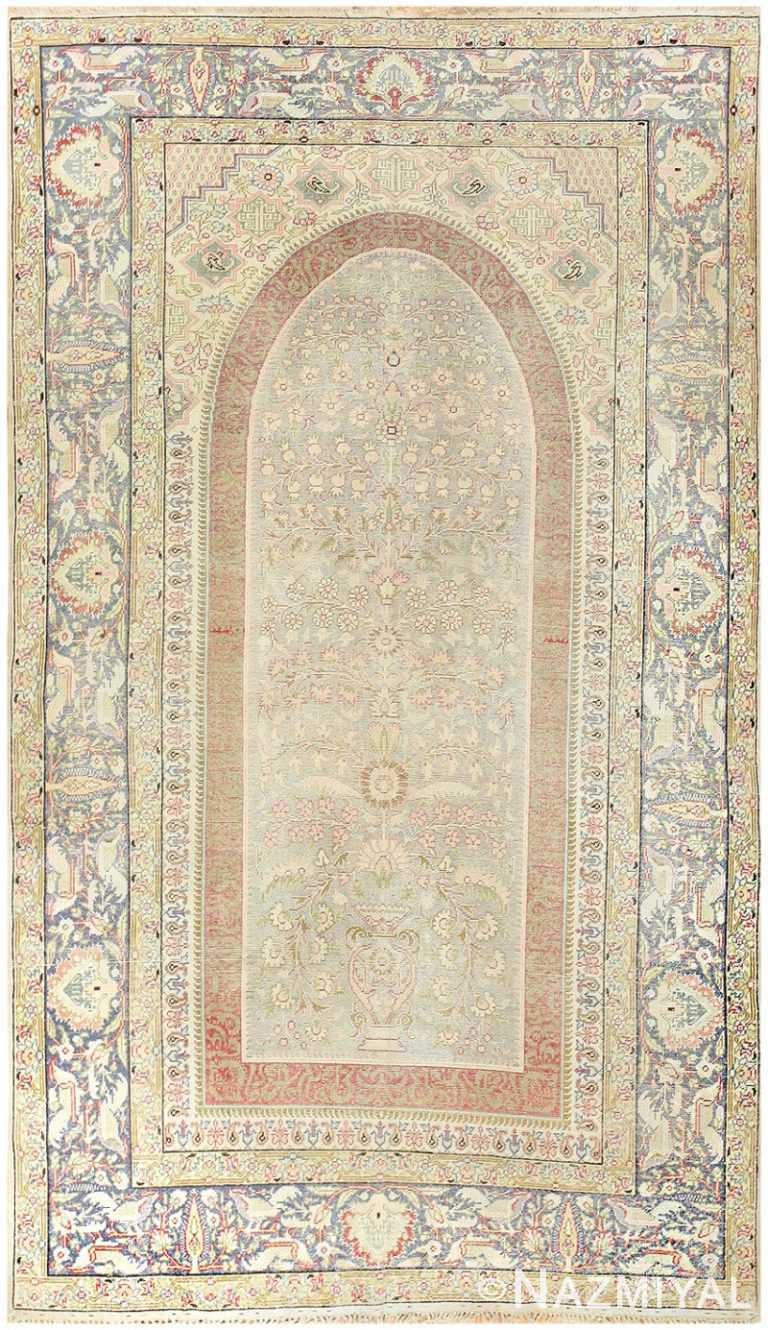Silk Antique Keysari Turkish Rug 50245 Nazmiyal