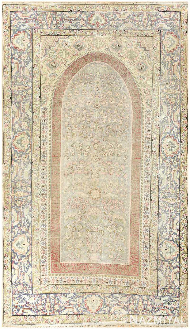 Silk Antique Keysari Turkish Rug 50245 Nazmiyal