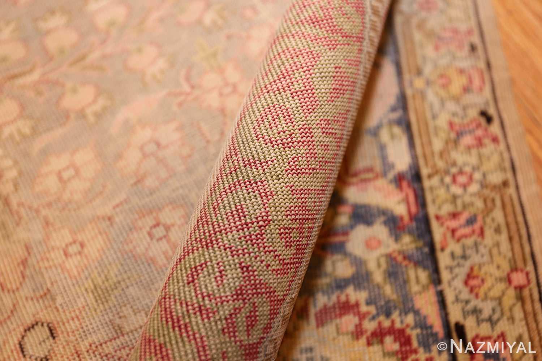silk antique keysari turkish rug 50245 pile Nazmiyal