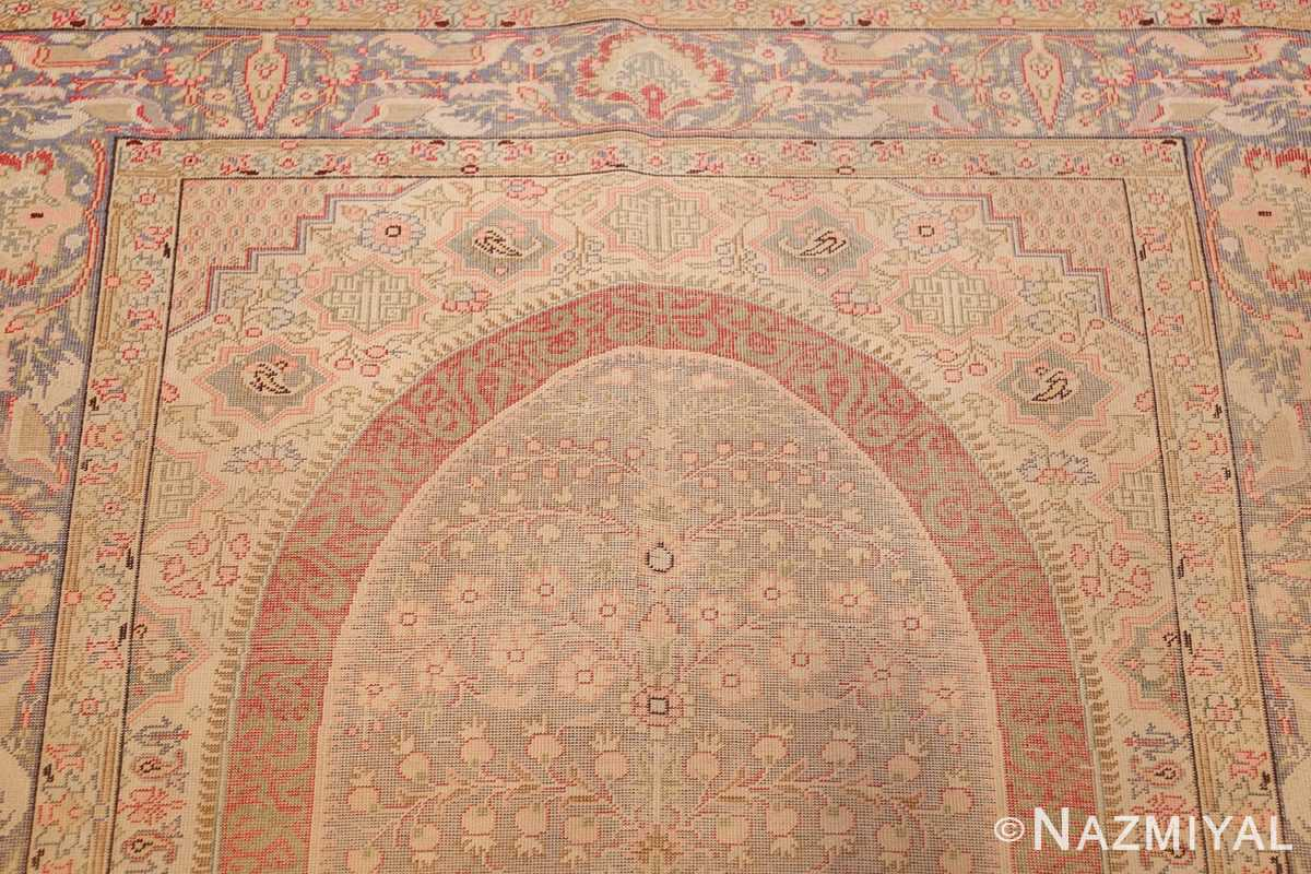 silk antique keysari turkish rug 50245 top Nazmiyal