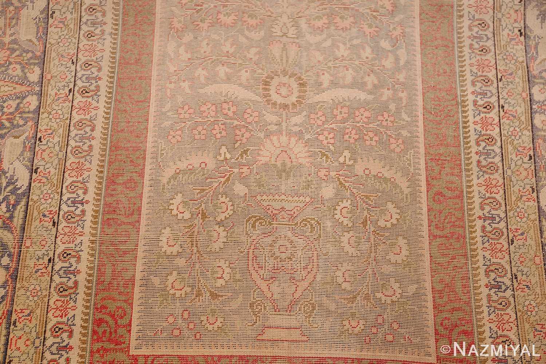 silk antique keysari turkish rug 50245 vase Nazmiyal