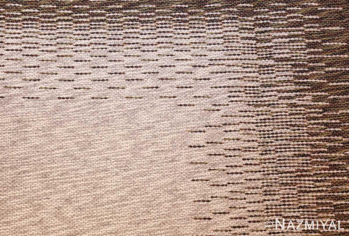vintage double sided swedish kilim 48501 texture Nazmiyal