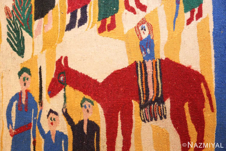 vintage judaic purim scene tapestry 48551 purim Nazmiyal
