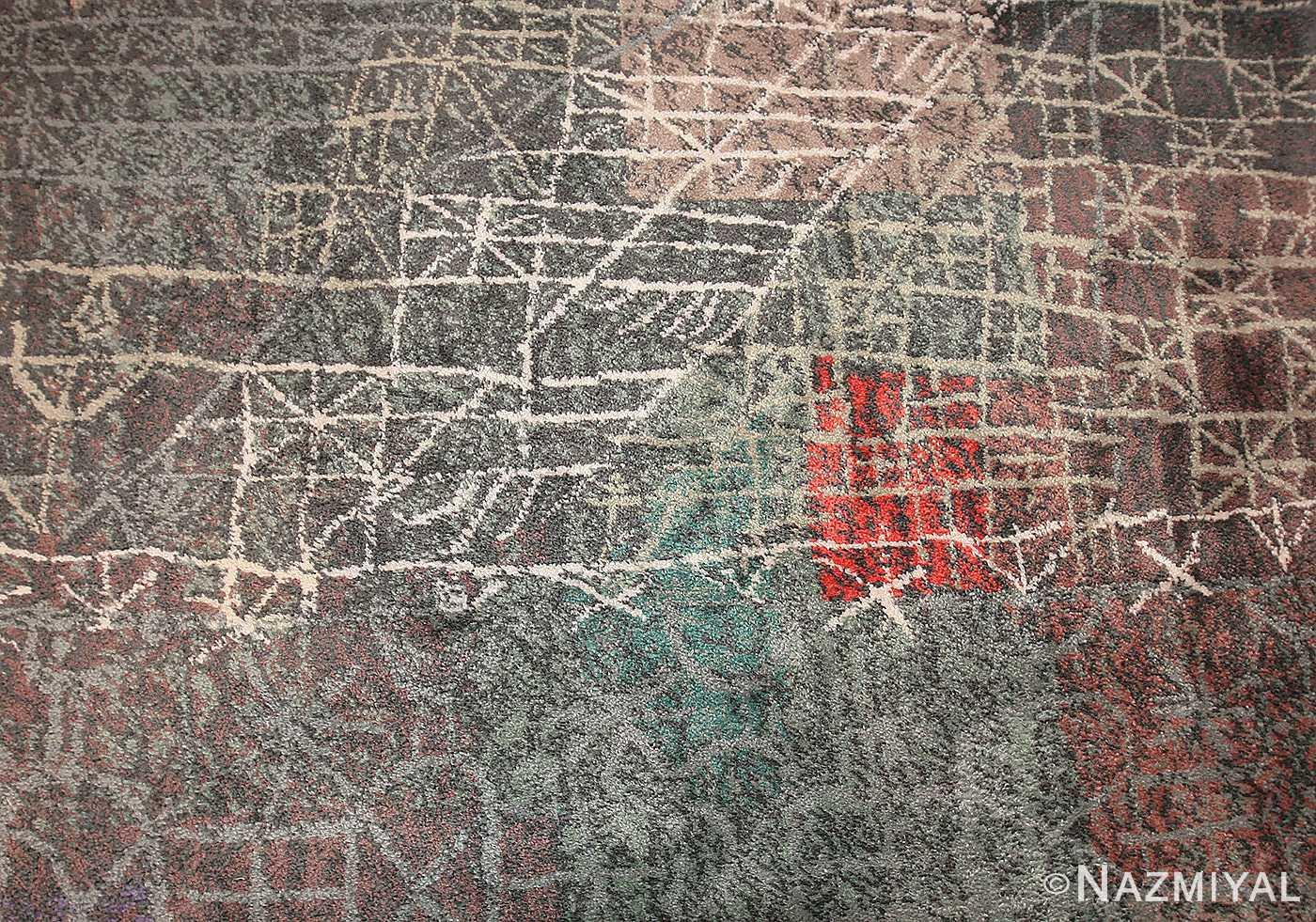vintage paul klee carpet 48495 detail Nazmiyal