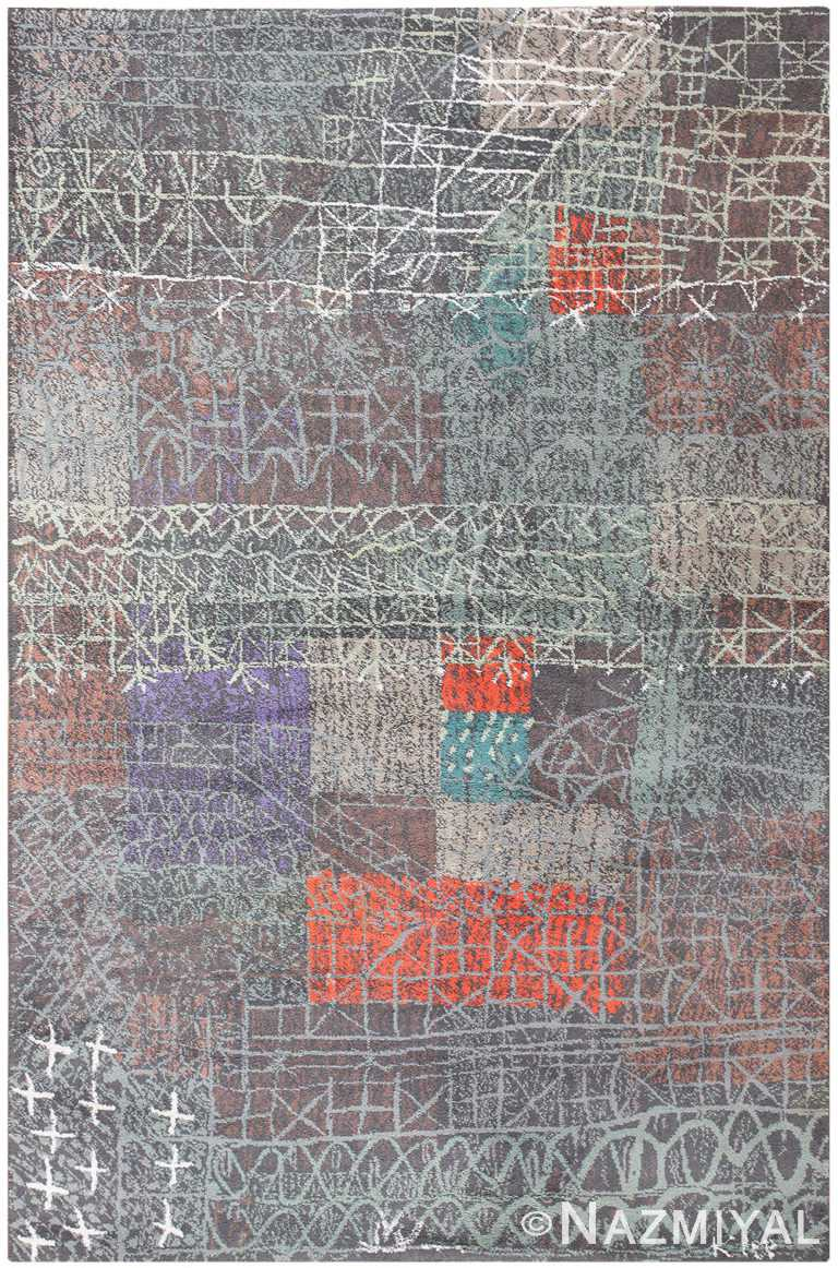 Vintage Paul Klee Carpet 48495 Detail/Large View