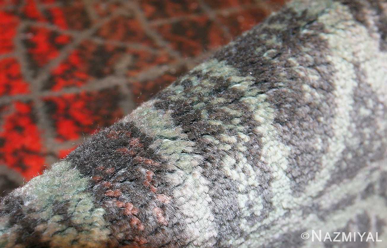 vintage paul klee carpet 48495 pile Nazmiyal