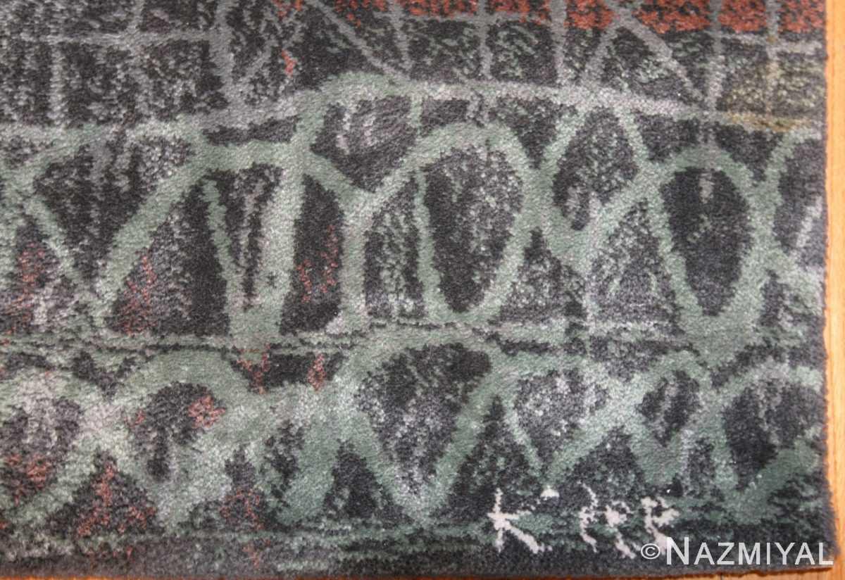 vintage paul klee carpet 48495 signature Nazmiyal