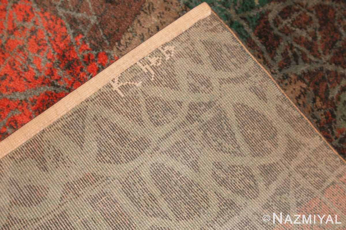 vintage paul klee carpet 48495 weave Nazmiyal