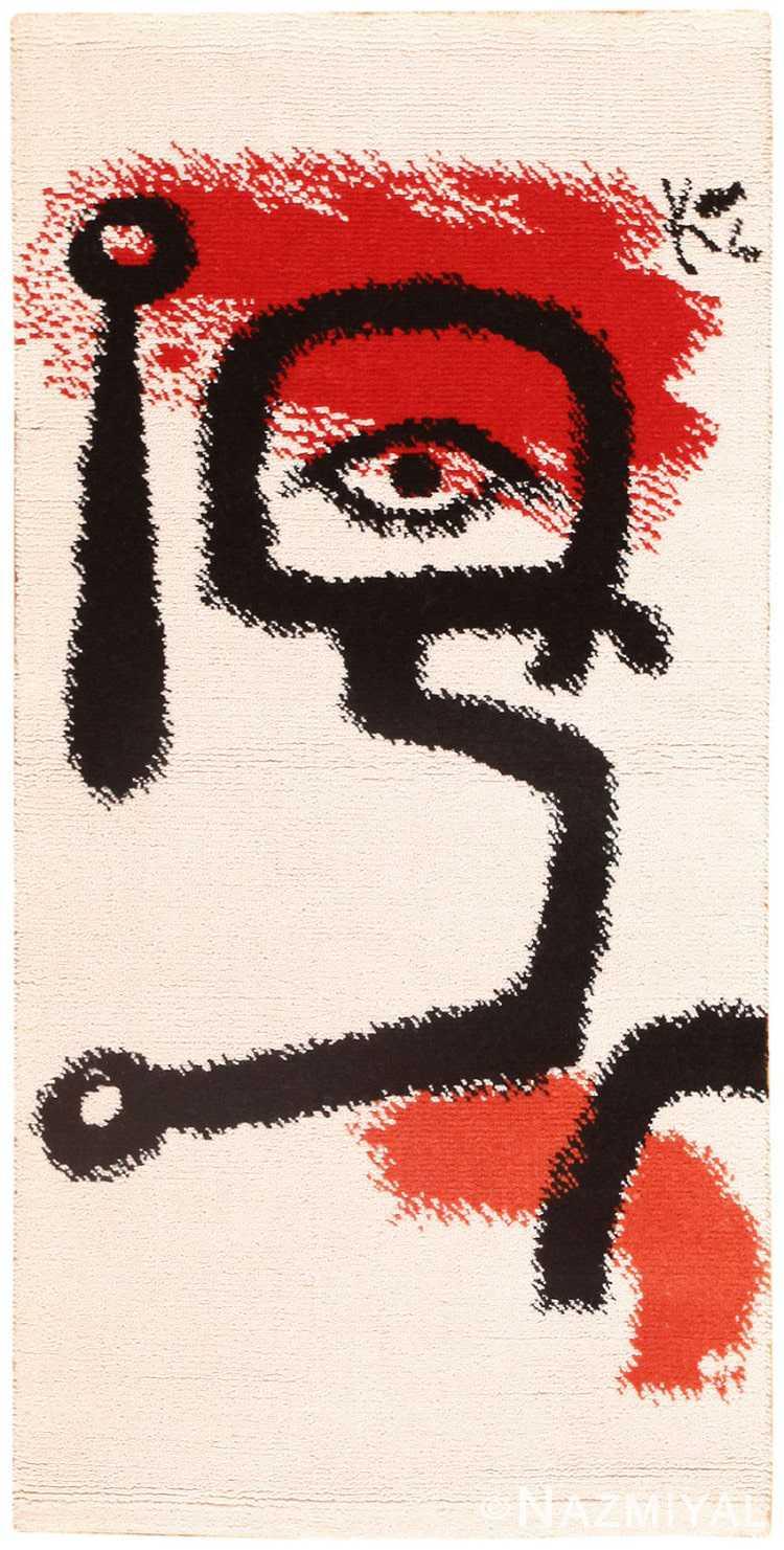Vintage Paul Klee Carpet 48552 Detail/Large View