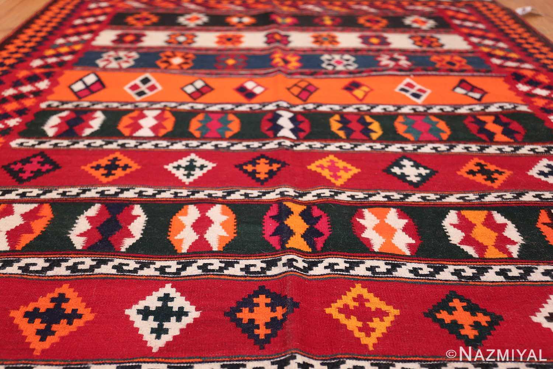 Vintage Persian Ghashgai Rug 50320 Field Geometric Nazmiyal