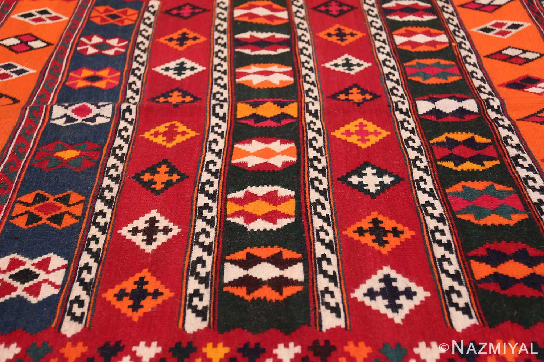 Vintage Persian Ghashgai Rug 50320 Horizontal Lines Nazmiyal