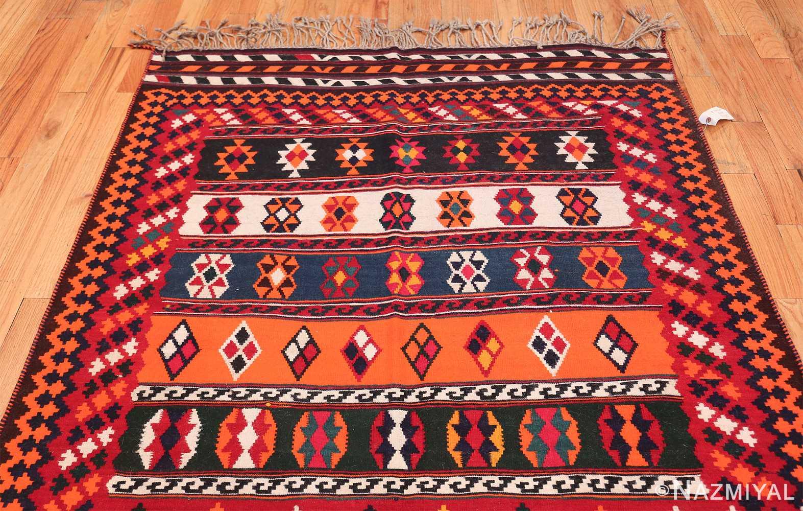 Vintage Persian Ghashgai Rug 50320 Top Design Nazmiyal