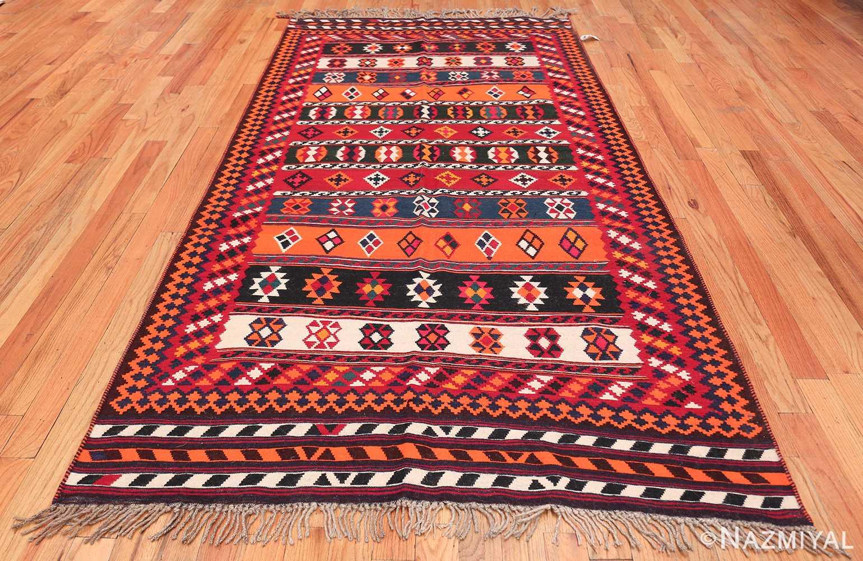 Vintage Persian Ghashgai Rug 50320 Whole Design Nazmiyal