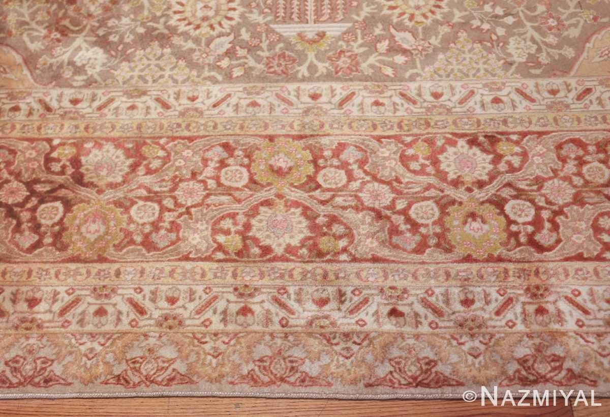 vintage room sized persian tabriz carpet 50259 border Nazmiyal