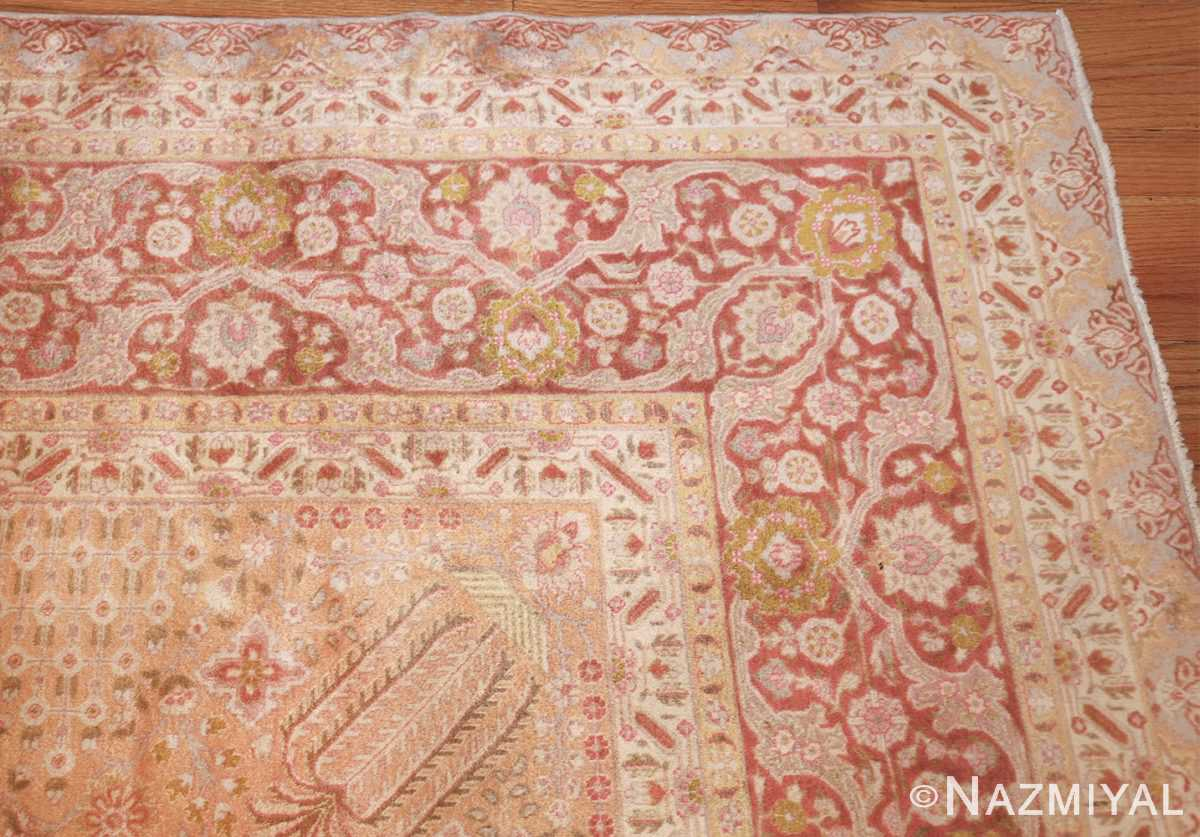 vintage room sized persian tabriz carpet 50259 corner Nazmiyal