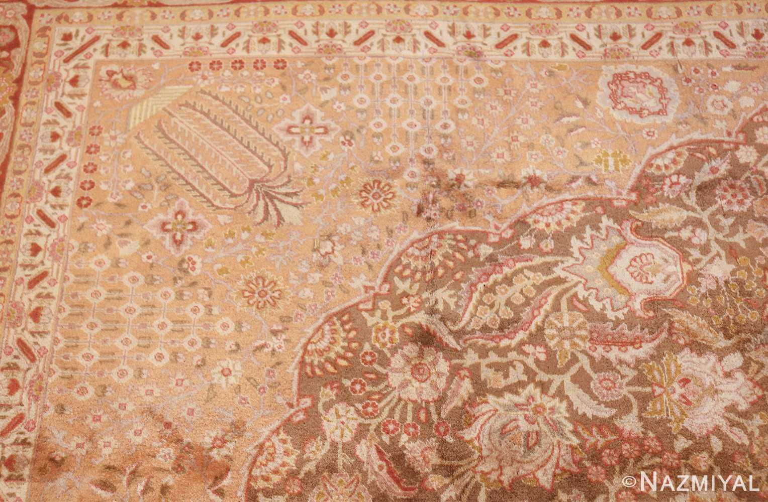 vintage room sized persian tabriz carpet 50259 design Nazmiyal