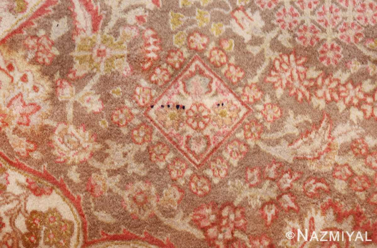 vintage room sized persian tabriz carpet 50259 flowers Nazmiyal