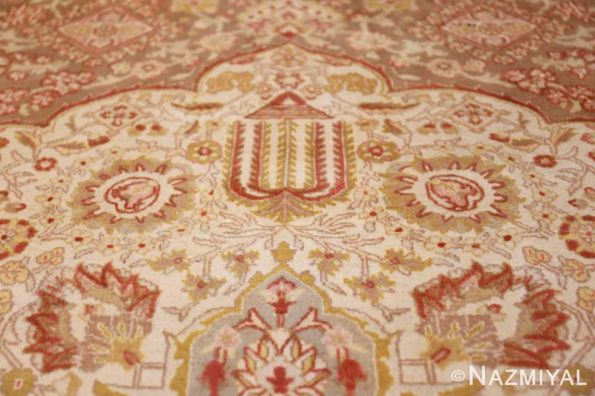 vintage room sized persian tabriz carpet 50259 pattern Nazmiyal