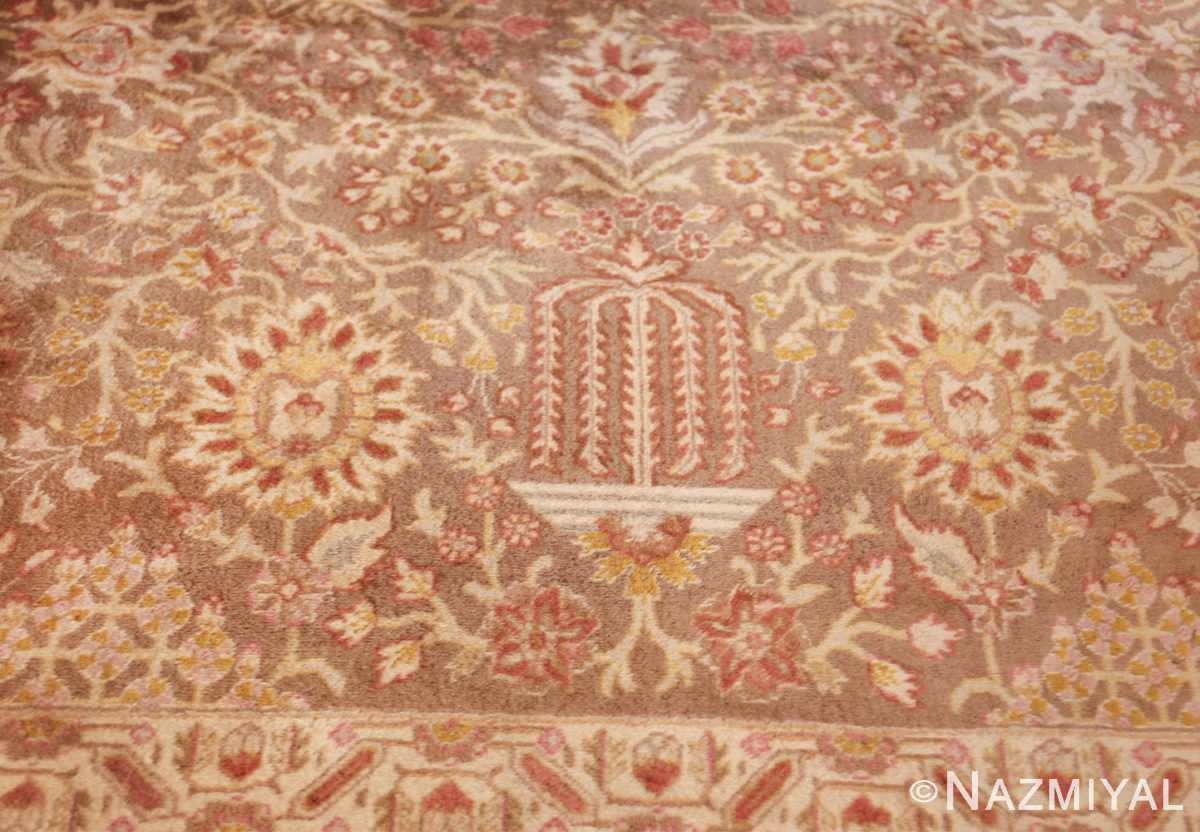 vintage room sized persian tabriz carpet 50259 vase Nazmiyal